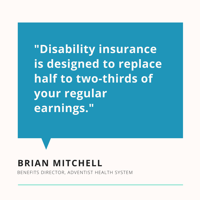 brian mitchell disability insurance quote