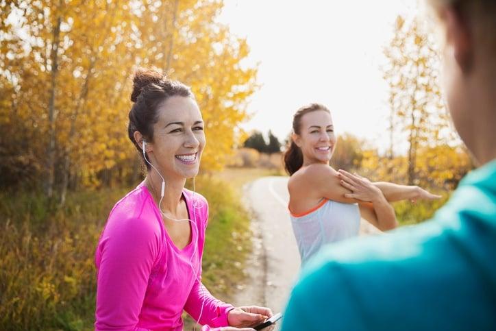 women-exercising-outdoors